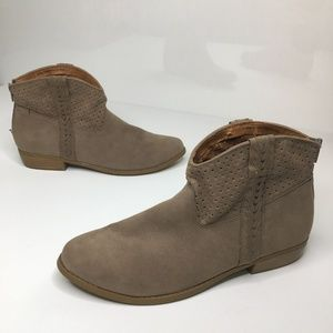 Mossimo Boho Western Ankle Boots Size 11